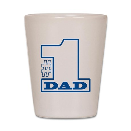 #1 Dad Shot Glass