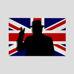 Winston Churchill Victory Rectangle Magnet