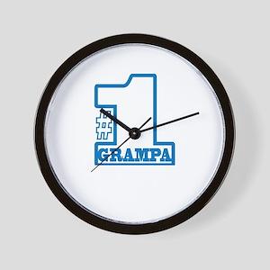 #1 Dad Wall Clock