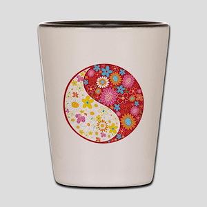 Yin Yang Shot Glass
