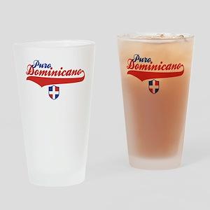 Puro Dominicano Drinking Glass