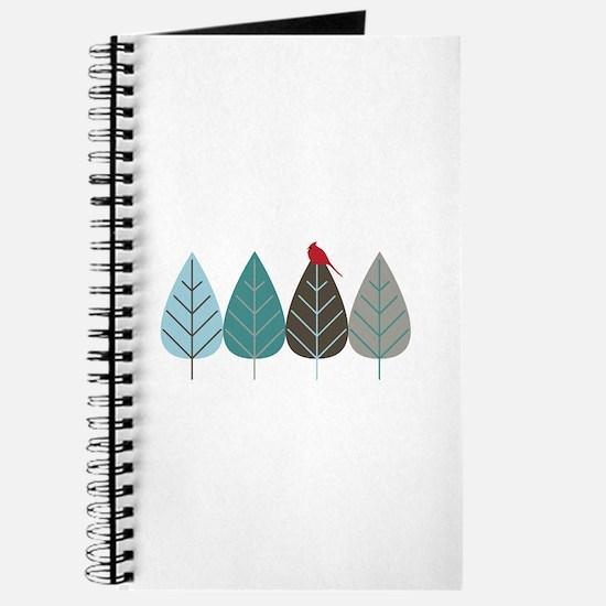 Winter Trees Journal