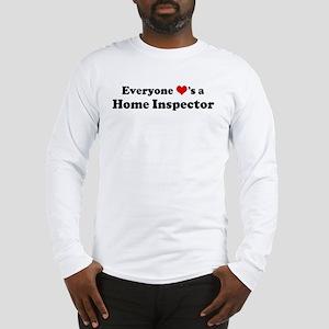 Loves a Home Inspector Long Sleeve T-Shirt