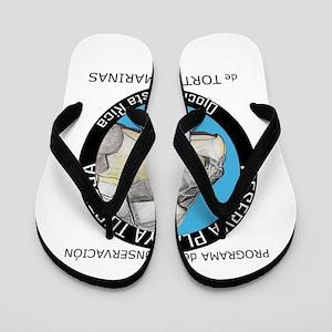 Marine Turtle Program Flip Flops