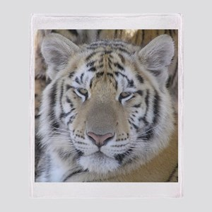 Tiger Portait Throw Blanket