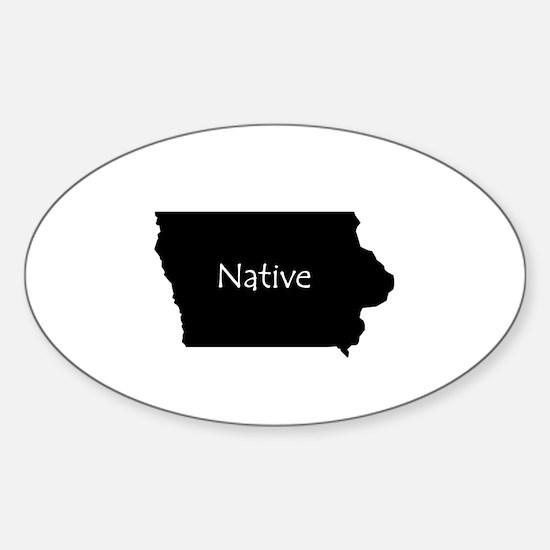 IowaNative-light Stickers
