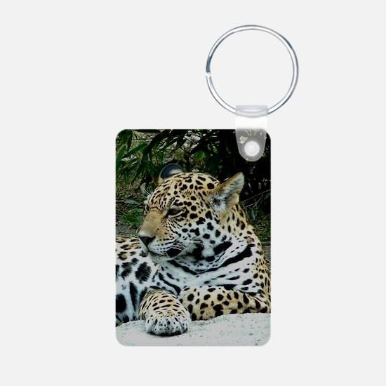Jaguar Portrait Keychains