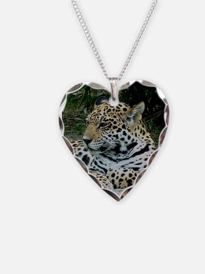 Jaguar Portrait Necklace