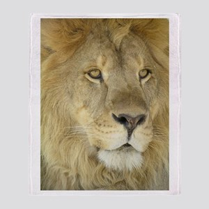 Lion Face Throw Blanket