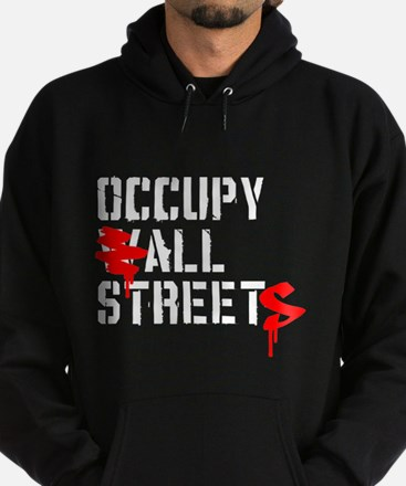 Occupy All Streets - Hoodie (dark)