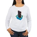 Business Shopping Women's Long Sleeve T-Shirt