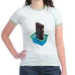 Business Shopping Jr. Ringer T-Shirt
