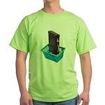 Business Shopping Green T-Shirt