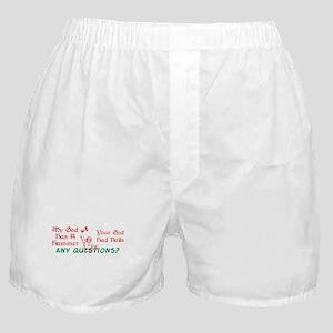 My God has a Hammer Boxer Shorts