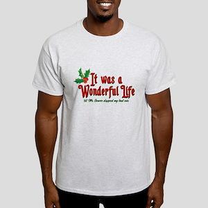 It Was a Wonderful Life Light T-Shirt
