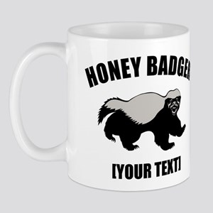 Honey Badger Custom Mug