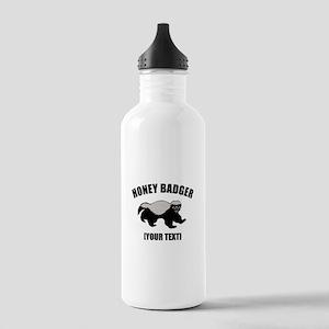 Honey Badger Custom Stainless Water Bottle 1.0L