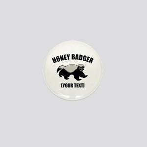 Honey Badger Custom Mini Button