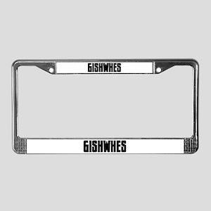 GISHWHES License Plate