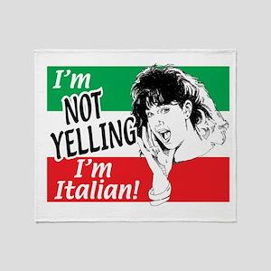 I'm Not Yelling I'm Italian! (Gals) Stadium Blank