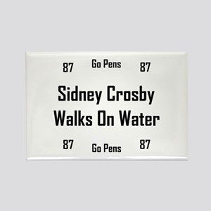 Crosby Walks On Water Rectangle Magnet