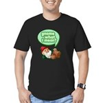 Gnome What I Mean Men's Fitted T-Shirt (dark)