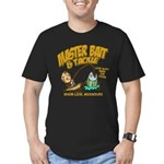 Master Bait Tackle Men's Fitted T-Shirt (dark)