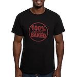 Totally Baked Men's Fitted T-Shirt (dark)