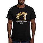 Well Hung Men's Fitted T-Shirt (dark)