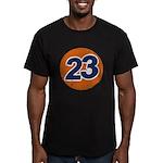 23 Logo Men's Fitted T-Shirt (dark)