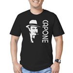 Capone Men's Fitted T-Shirt (dark)