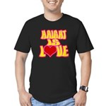 Haight Love Men's Fitted T-Shirt (dark)