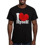 I LOVE Myself Men's Fitted T-Shirt (dark)