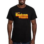 Badass Cinema Men's Fitted T-Shirt (dark)