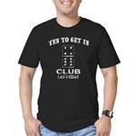 Club 10 Men's Fitted T-Shirt (dark)
