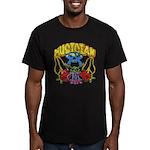 Hippie Musician Men's Fitted T-Shirt (dark)