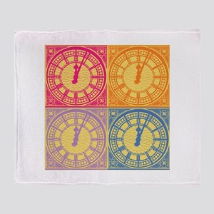 What time is love Throw Blanket