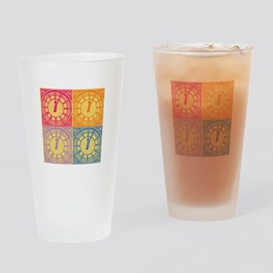 What time is love Drinking Glass