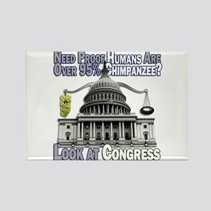 Evolution of Congress Rectangle Magnet