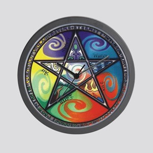 Wiccan Wall Clock