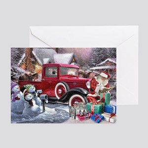 Checking It Twice Greeting Cards (pk Of 10)