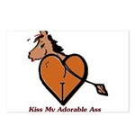 Kiss My Adorable Ass Postcards (Package of 8)