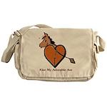 Kiss My Adorable Ass Messenger Bag