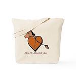 Kiss My Adorable Ass Tote Bag