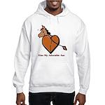 Kiss My Adorable Ass Hooded Sweatshirt