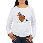 Kiss My Adorable Ass Women's Long Sleeve T-Shirt