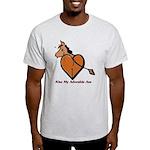 Kiss My Adorable Ass Light T-Shirt