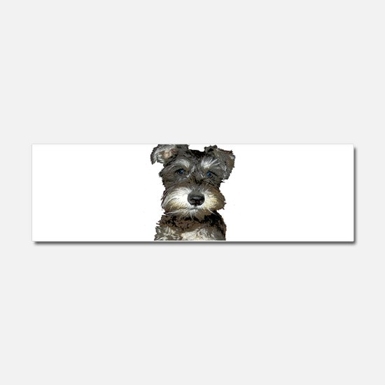 Puppy Car Magnet 10 x 3