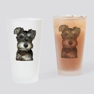 Puppy Drinking Glass
