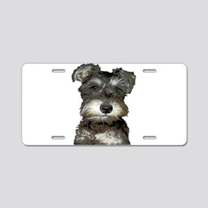 Puppy Aluminum License Plate
